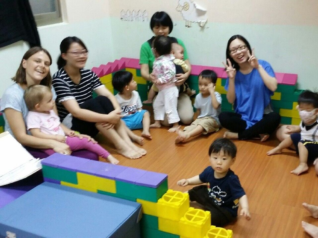toddler group news from the island